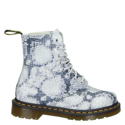 Dr. Martens dames boots grijs