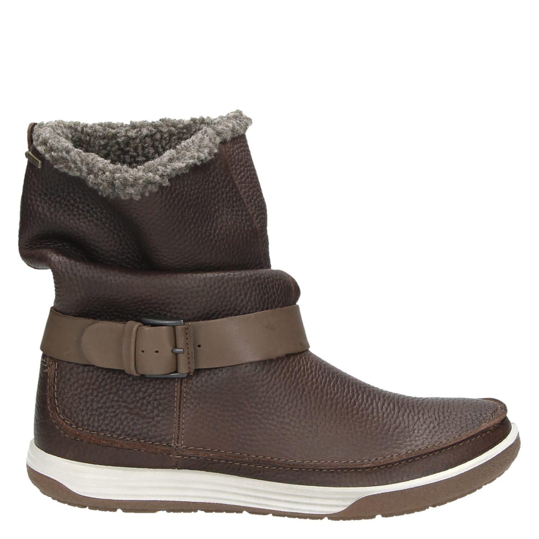 Brown Chaussures Ecco Avec Fermeture Éclair Pour Les Femmes HKojqk