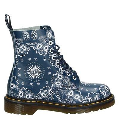 Dr. Martens dames boots blauw
