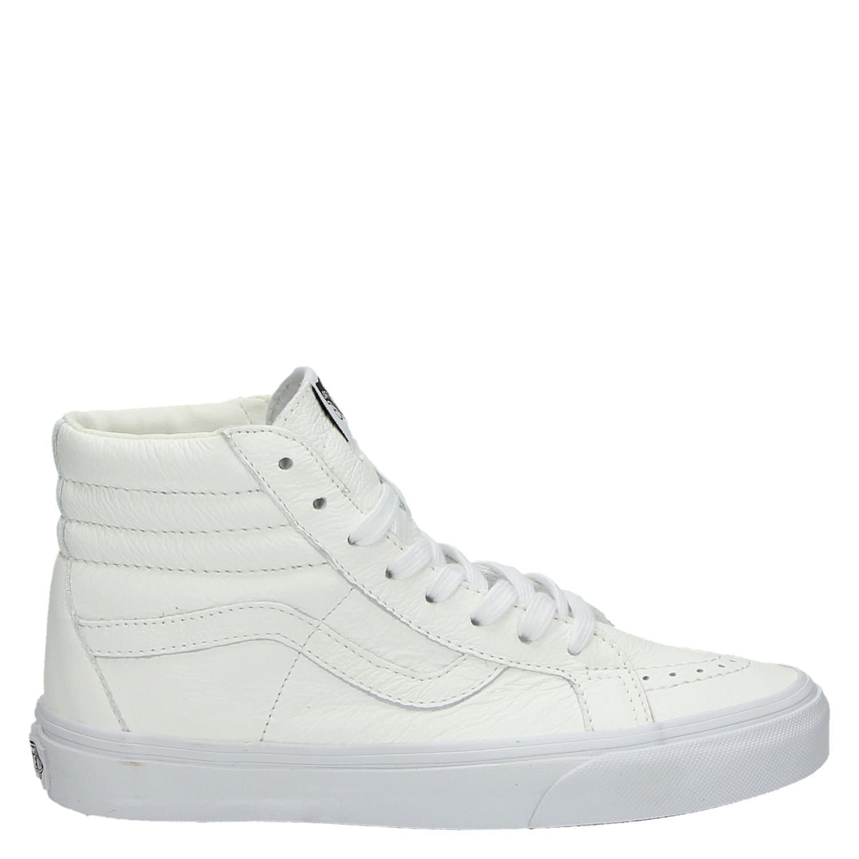Vans dames hoge sneakers wit