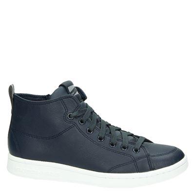 Skechers dames hoge sneakers Blauw