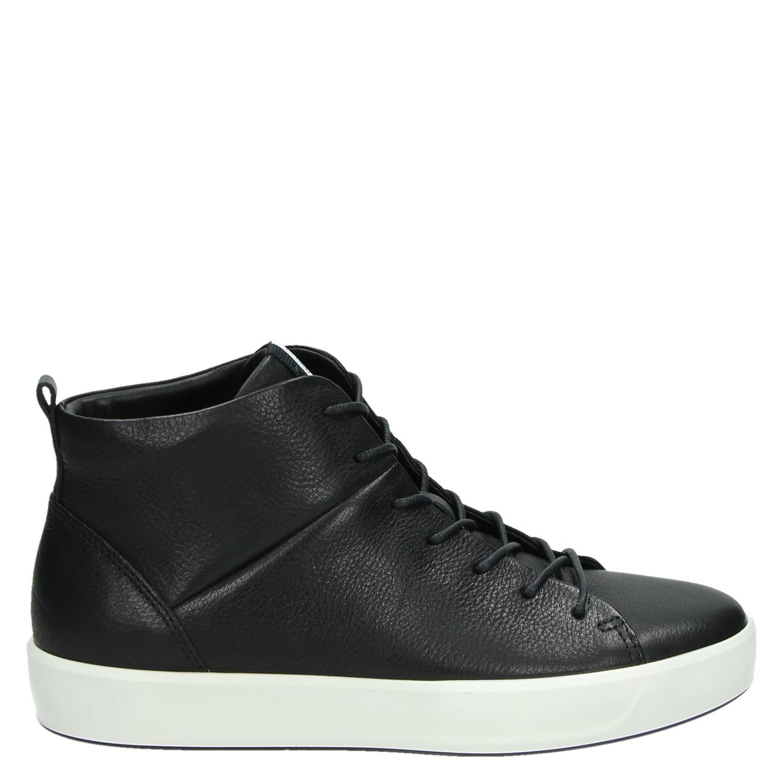 Femmes Ecco Doux 4 Chaussures De Sport - Noir - 39 Eu Heocpk