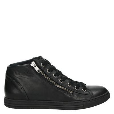 Aqa dames sneakers zwart