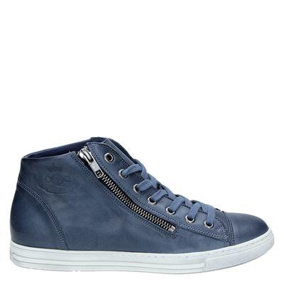 Aqa dames sneakers blauw