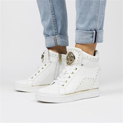 03d70735ac7 Guess dames hoge sneakers collectie bij Nelson Schoenen