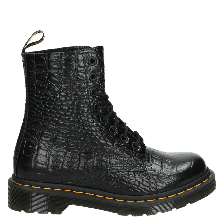 Dr Noir. Martens Chaussures Avec Dames Lacer 5wKKiCEQS