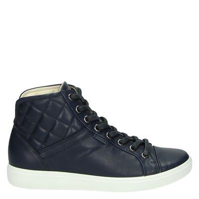Ecco dames laarsjes & boots blauw
