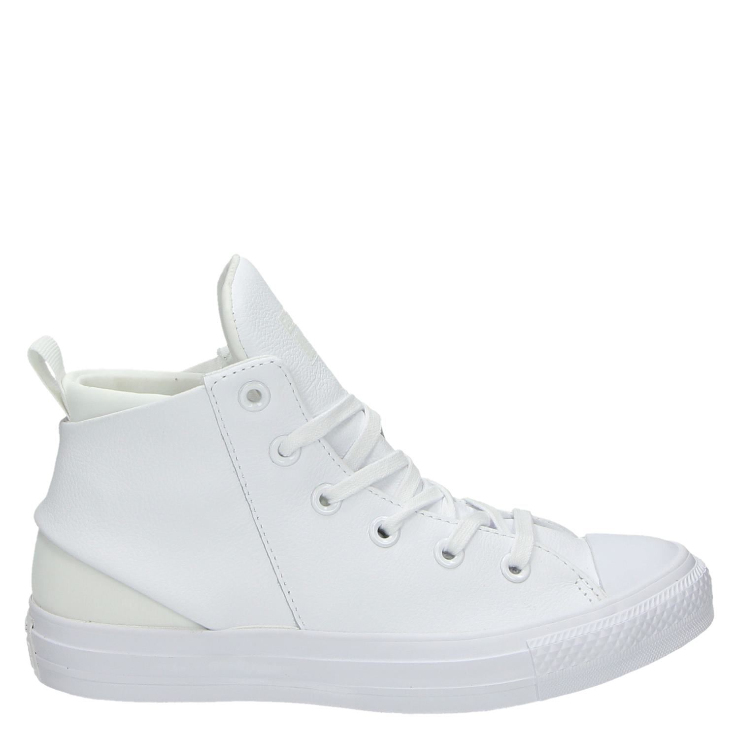 df2d7bfe69a Converse dames hoge sneakers wit