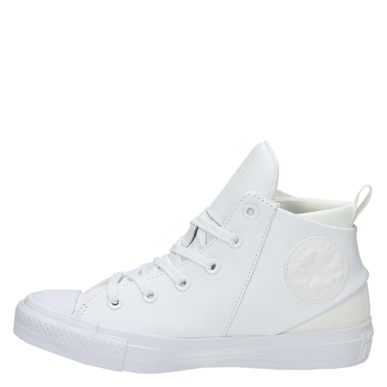 converse sneakers dames leer