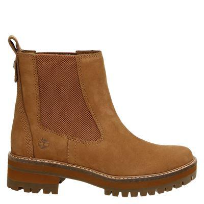 Timberland dames boots cognac