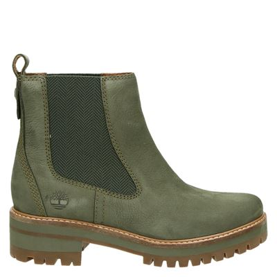 Timberland dames chelseaboots kaki