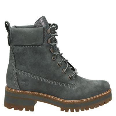 Timberland dames boots grijs