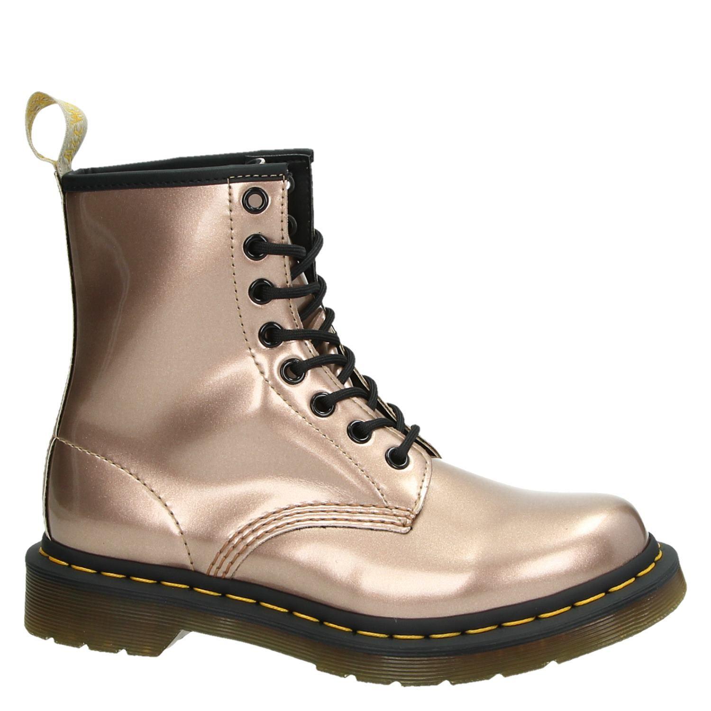 011b7b963bb Dr. Martens 1460 Vegan dames rits- & gesloten boots goud