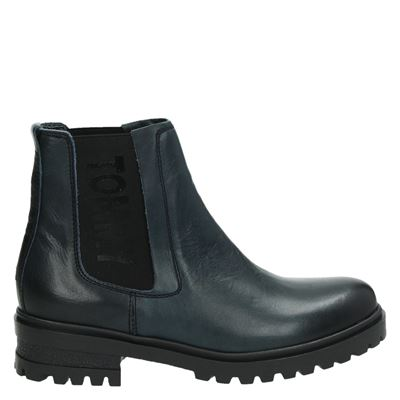 Tommy Jeans dames boots blauw