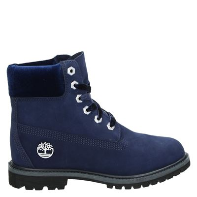 Timberland dames boots blauw