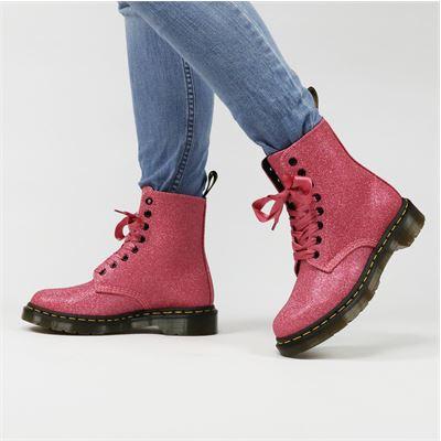 Dr. Martens dames boots roze