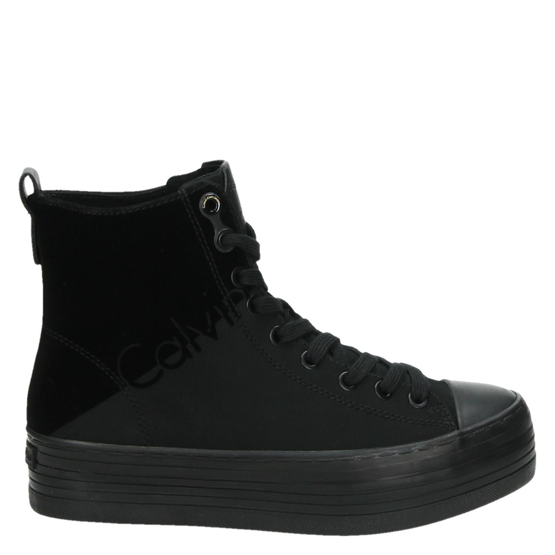 Zazah Sneakers Zwart Calvin Dames Klein Hoge T6qZZvw