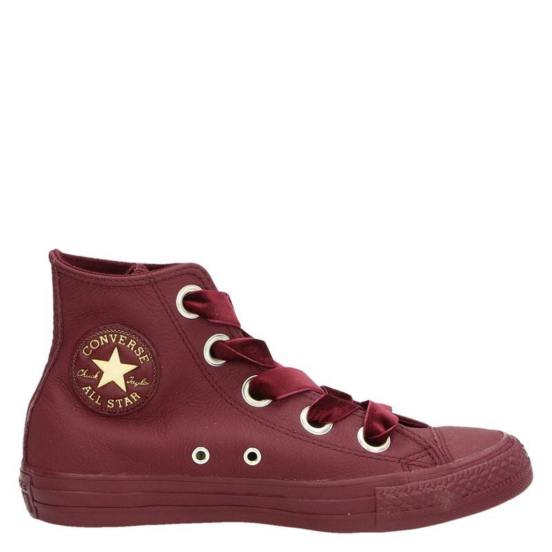 Converse All Star damessneaker rood