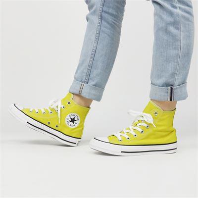 Converse dames sneakers geel