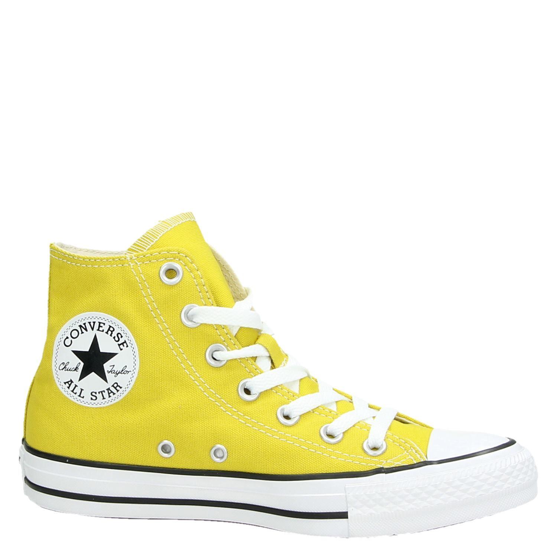 Converse Hi Seasonal - Hoge sneakers voor dames - Geel x4YLLMh