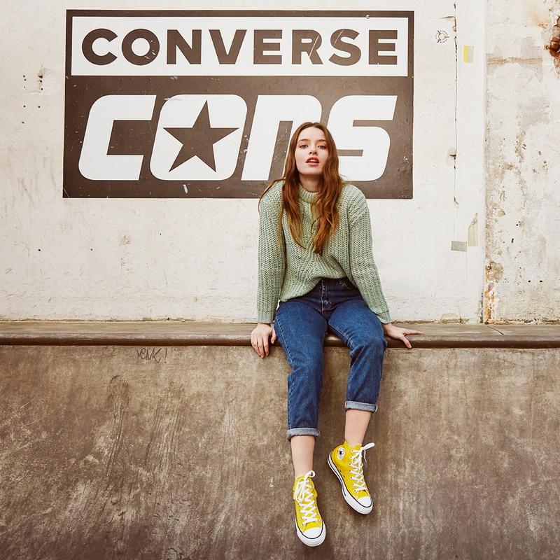 Converse Hi Seasonal - Hoge sneakers - Geel