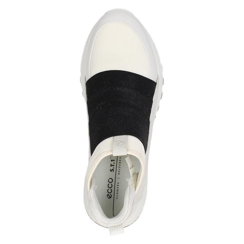 Ecco ST.1 - Hoge sneakers - Wit
