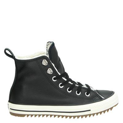 Converse dames boots zwart