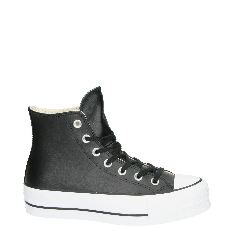 cea2c85cbcd Converse All Star dames hoge sneakers zwart