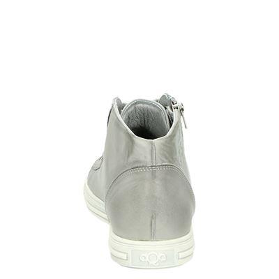 Aqa dames hoge sneakers Grijs