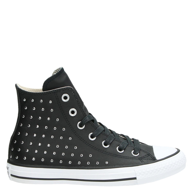 a47d3e5e9c2 Converse All Star hi dames hoge sneakers zwart