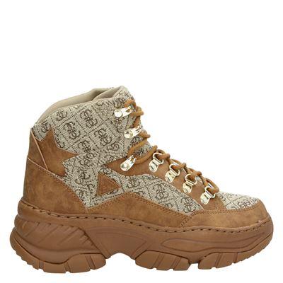 Guess dames sneakers bruin