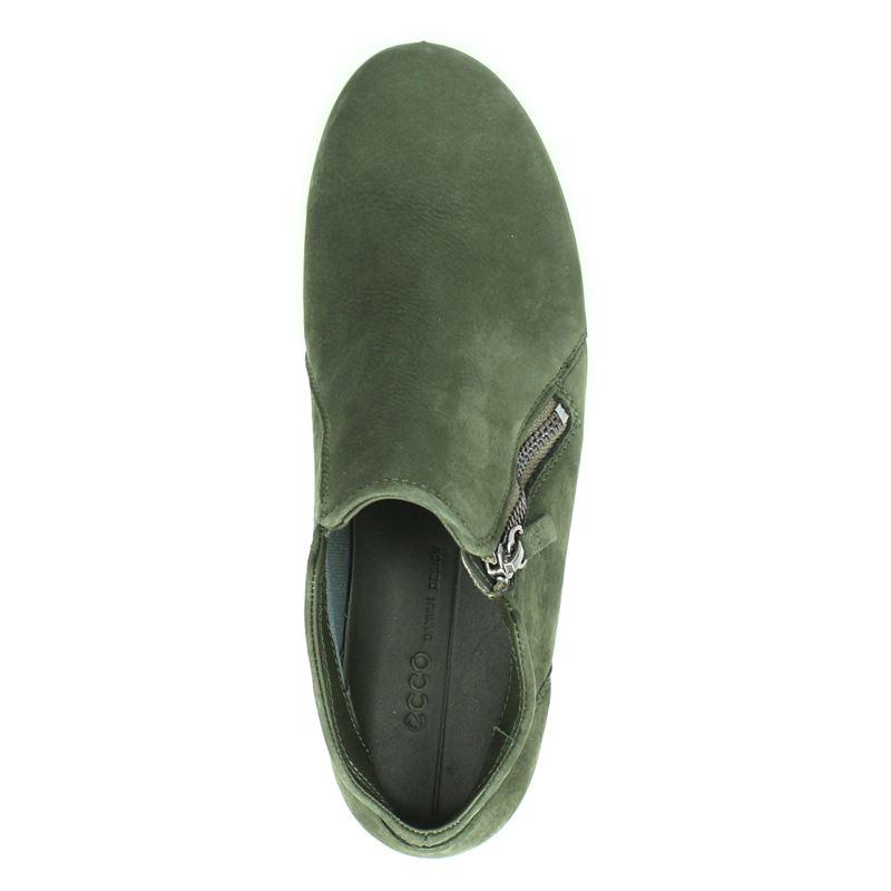 Ecco Soft 7 - Rits- & gesloten boots - Groen