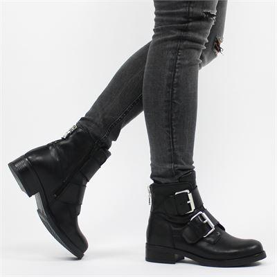 PS Poelman dames boots zwart