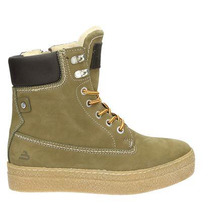 Bullboxer dames boots groen
