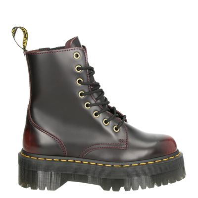 Dr. Martens dames boots rood