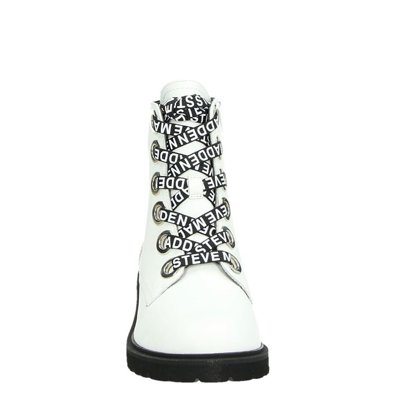 Steve Madden Lindia - Rits- & gesloten boots - Wit