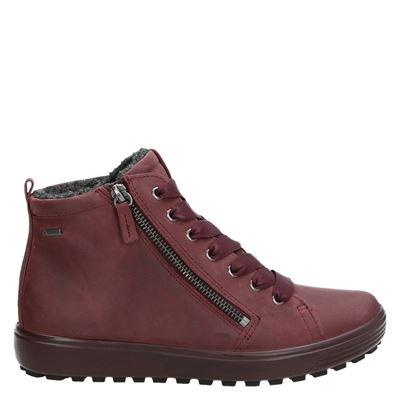 Ecco dames boots rood
