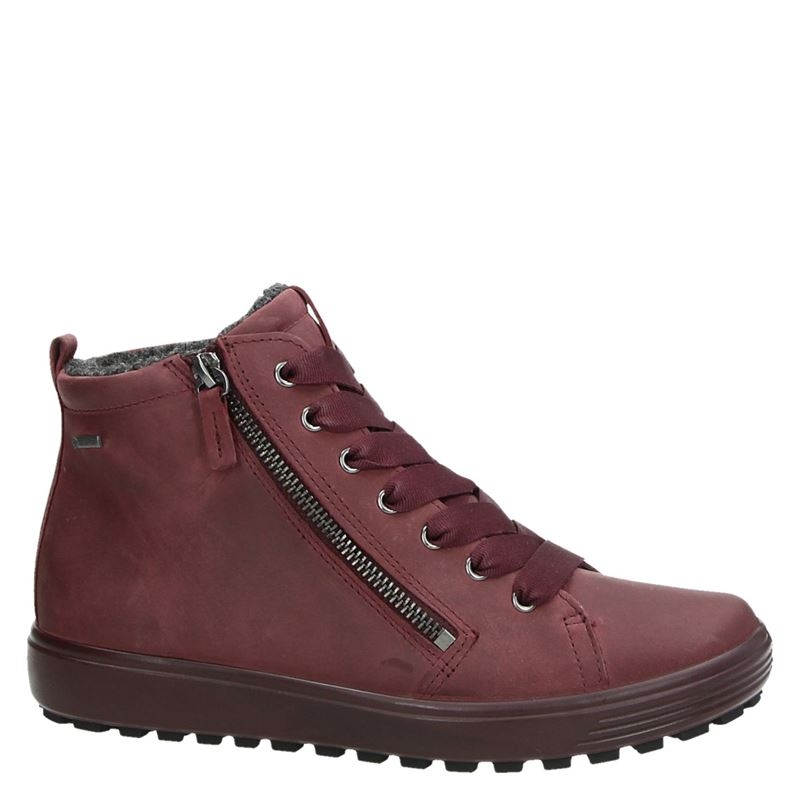 Ecco Soft 7 Tred - Veterboots - Rood