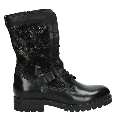 Mjus dames boots zwart
