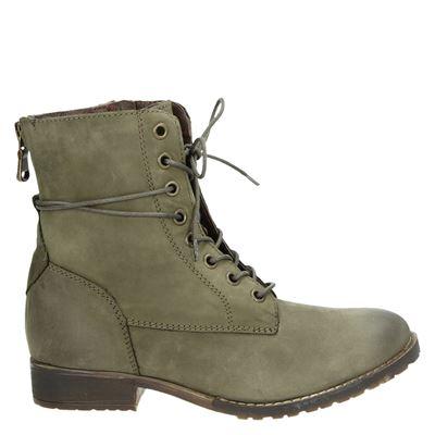 PS Poelman dames boots groen