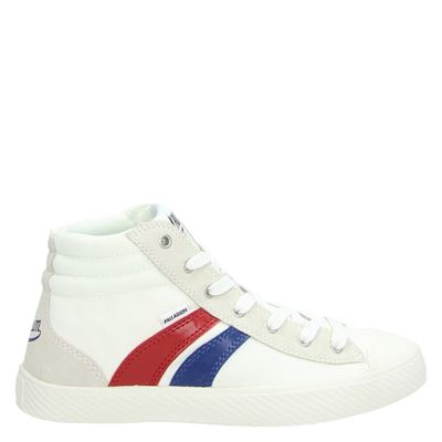 Palladium dames hoge sneakers wit