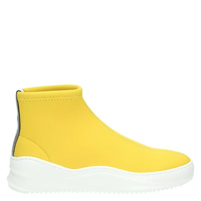 Bronx dames boots geel