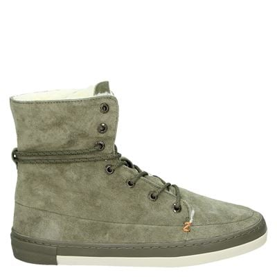 Hub dames boots groen