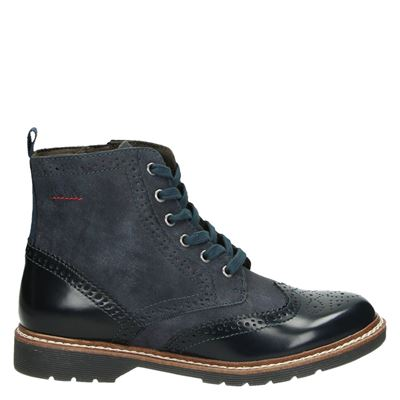 S.Oliver dames boots blauw