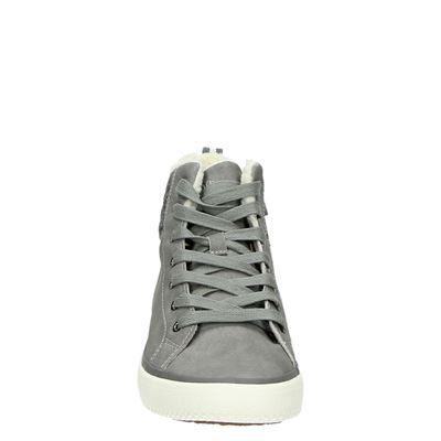 S.Oliver dames hoge sneakers Grijs