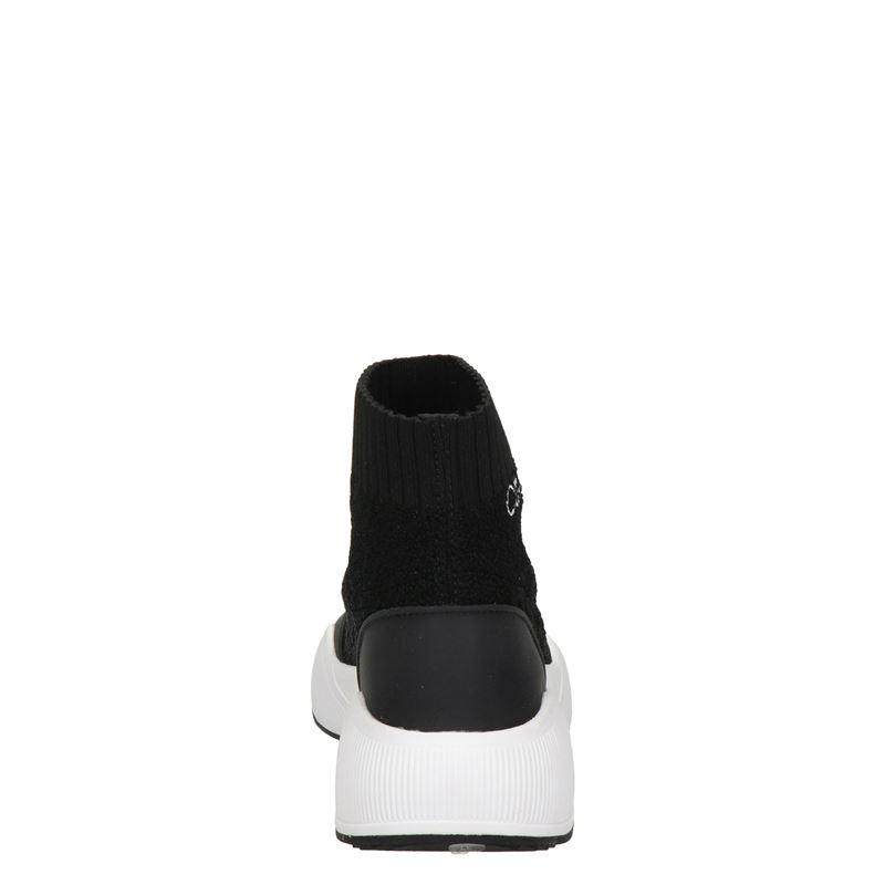 Calvin Klein Babele - Hoge sneakers - Zwart
