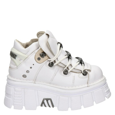 New Rock dames sneakers wit