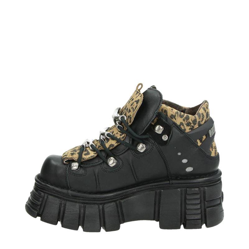 New Rock Tower Black - Dad Sneakers - Zwart