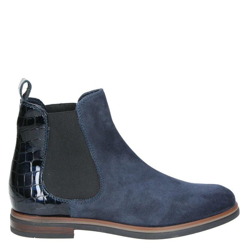 Nelson - Chelseaboots - Blauw