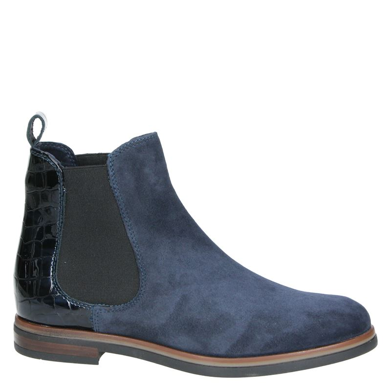 Nelson - Chelseaboots - Blauw